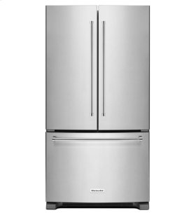 KitchenAid® 25 cu.ft. 36-Width Standard Depth French Door Refrigerator with Interior Dispense - Stainless Steel