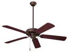"""Standard Series Ceiling Fan, 52"""" Diameter, in Oil-Rubbed Bronze Finish"""