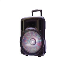 "PABT6006 15"" Portable Bluetooth PA System with Rechargable Battery"