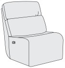 Aaron Power Motion Armless Chair Product Image