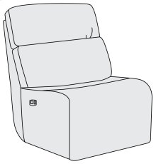 Aaron Power Motion Armless Chair