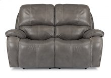 MacKay Leather Power Reclining Loveseat