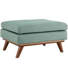 Engage Upholstered Fabric Ottoman in Laguna