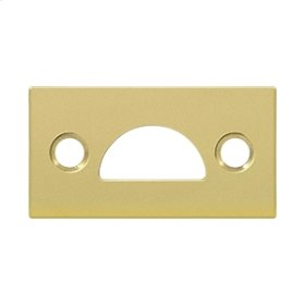 Mortise Strike, Solid Brass - Polished Brass