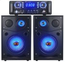 Complete Sound System With 2 Speakers and Amplifier Product Image