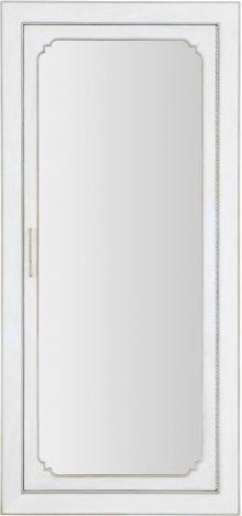 Modern Romance Floor Mirror w/jewelry storage