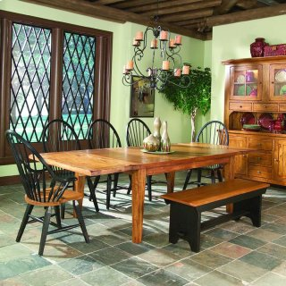 Rustic Traditions Backless Dining Bench