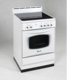 "Model DER240W - 24"" Deluxe Elect Range White"