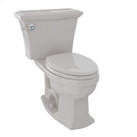 Clayton® Two-Piece Toilet, 1.6 GPF, Elongated Bowl - Sedona Beige