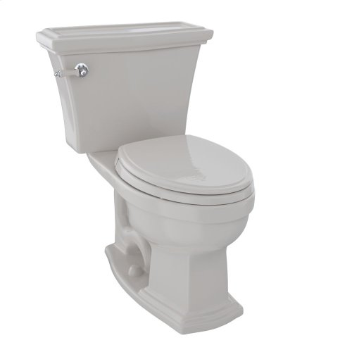 Clayton® Two-Piece Toilet, 1.6 GPF, Elongated Bowl - Sedona Beige