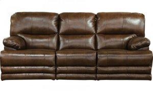 Lay Flat Reclining Sofa,Storage, Extended Ottoman