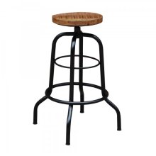 Mango Wood Counter Height Stool