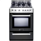 "Matte Black 24"" Gas Range Product Image"