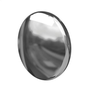 Polished Nickel - Natural Metal Button