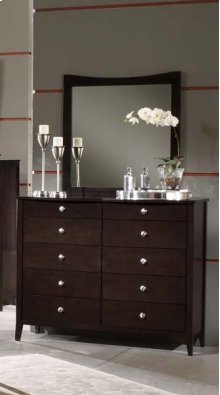 Tiburon II Bentwood Tall Dresser Mirror