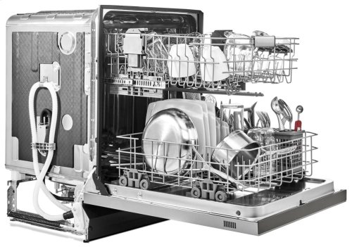 46 DBA Dishwasher with ProWash Cycle and PrintShield Finish, Front Control - PrintShield Stainless