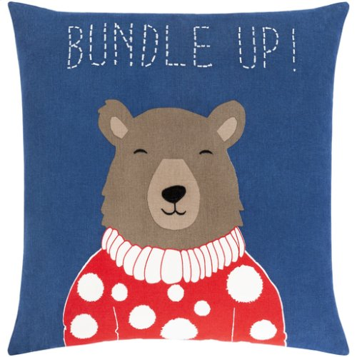 "Bundle Up Bear BUB-001 22"" x 22"""
