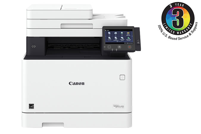 Canon Color imageCLASS MF743Cdw - All in One, Wireless, Mobile Ready, Duplex Laser Printer With 3 Year Limited Warranty Color Laser Printer