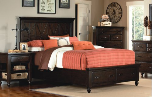 Thatcher Panel Storage Bed King