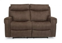 Wyatt Fabric Power Reclining Loveseat