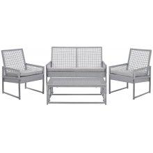 Shawmont Outdoor Set - Grey / Beige