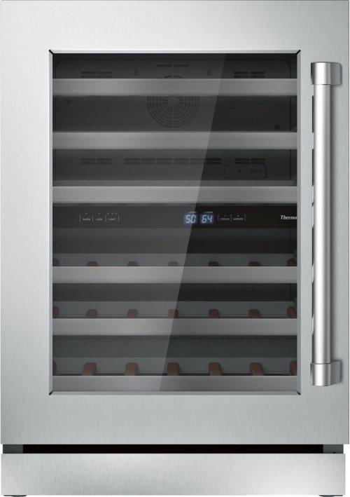 24 3/16'' Glass Door Wine Reserve Professional Handle Left Hinge T24UW820LS