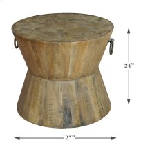 Tribal Lamp Table