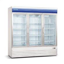 52 cu ft 3 Door Merchandiser Freezer (White)