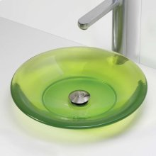 Nadine Round Above-counter Bathroom Sink - Absinthe
