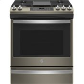"®30"" Slide-In Front-Control Convection Gas Range with No Preheat Air Fry"
