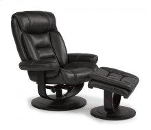 Hunter Fabric Chair and Ottoman
