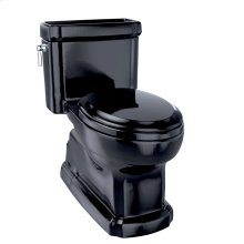 Eco Guinevere® One-Piece Toilet, 1.28 GPF, Elongated Bowl - Ebony