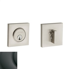 Oil-Rubbed Bronze Contemporary Square Deadbolt
