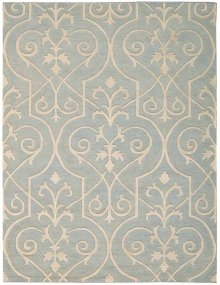 Ambrose Amb02 Bl Rectangle Rug 5'6'' X 7'5''