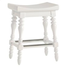 Retreat-5 O'Clock Somewhere Counter Stool in Saltbox White