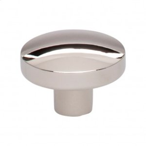 Hillmont Knob 1 3/8 Inch - Polished Nickel