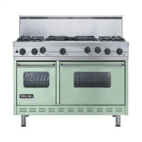 """Sage 48"""" Sealed Burner Self-Cleaning Range - VGSC (48"""" wide, four burners & 24"""" wide wok/cooker)"""