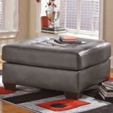 Signature Design by Ashley Alliston Oversized Accent Ottoman in Gray DuraBlend [FSD-2399OTT-GRY-GG]
