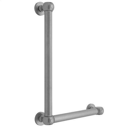 Polished Brass - G71 32H x 24W 90° Right Hand Grab Bar