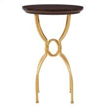 Virage Martini Table in Truffle