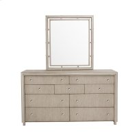 Sutton Place 9 Drawer Dresser in Grey Oak Product Image