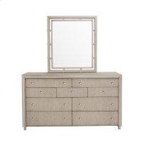 Sutton Place Dresser Mirror in Grey Oak Product Image