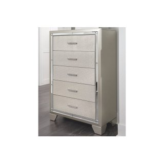 Lonnix Five Drawer Chest