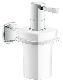 Grandera Holder with Ceramic Soap Dispenser