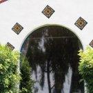 "6"" Geraniums Decorative Talavera Tiles Product Image"