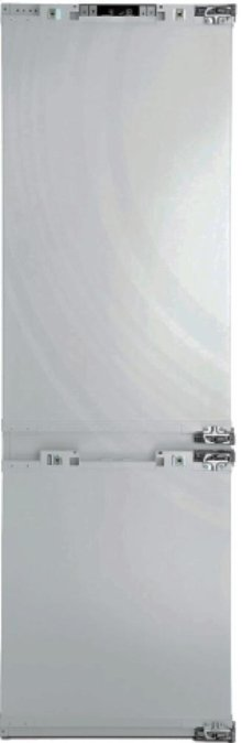 """24"""" 10.5 cuft fully intgrated bottom freezer fridge with 6 lb/day icemaker"""