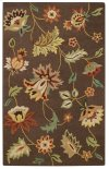 Floral Garden Cocoa Hand Tufted Rugs