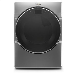 WhirlpoolWhirlpool® 7.4 cu. ft. Smart Front Load Electric Dryer - Chrome Shadow