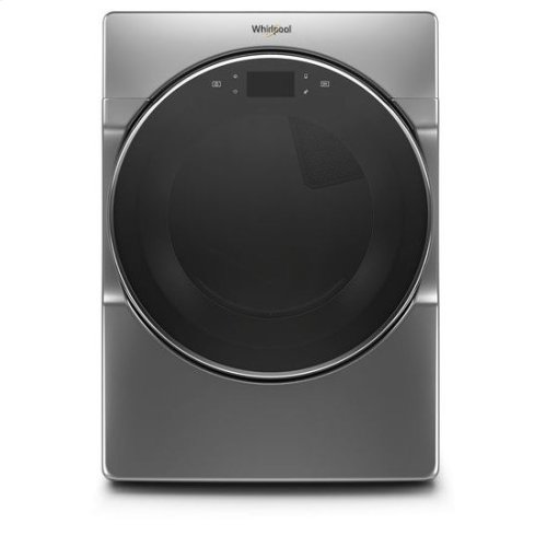 Whirlpool® 7.4 cu.ft Smart Front Load Electric Dryer with Remote Start - Chrome Shadow