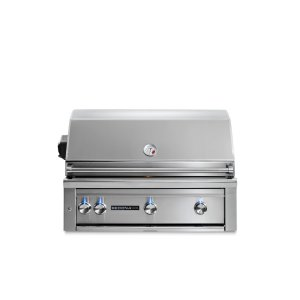 "Lynx36"" Sedona by Lynx Built In Grill with 3 Stainless Steel Burners and Rotisserie, LP"